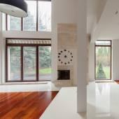 Design moderno do quarto — Fotografia Stock