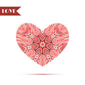 Abstract heart background — Cтоковый вектор