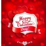 Valentine's day background — Stock Vector #69682527
