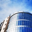 Modern office building made of glass and steel — Stock Photo #64020305