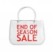 Sale bag design element isolated on white — Zdjęcie stockowe