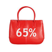 Sale bag design element isolated on white — 图库照片