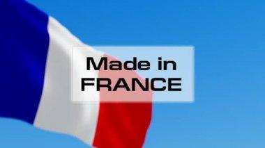 Fatto in Francia — Video Stock