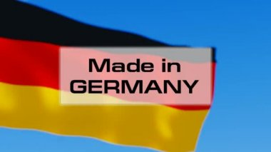 Made in Germany — Stock Video