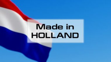 Made in Holland — Stock Video