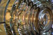 Fresnel lens in an old lighthhouse  — Stock Photo