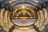 Fresnel lens in an old lighthhouse  — Foto de Stock