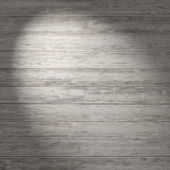 Wood wall with spotlight — Stockfoto
