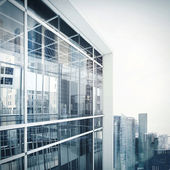 Modern office building exterior — Stock Photo