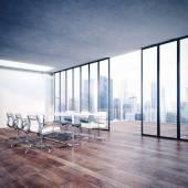 Cityscape modern ofis içi — Stok fotoğraf