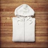 White hoodie — Stock Photo