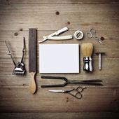 Vintage tools of barber shop — ストック写真