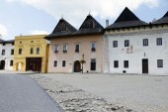 Spisska Sobota in Slovakia — Stock Photo