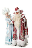Russian Christmas characters — Stock Photo