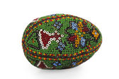 Easter egg from beads — Stock Photo