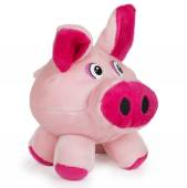 Soft pink toy pig — Stock Photo