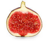 Sliced ripe figs — Stock Photo