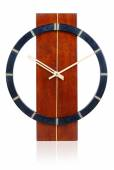 Old wooden wall clock — Stock Photo
