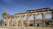 Morocco. The ruins of the ancient Roman city of Volubilis — Zdjęcie stockowe