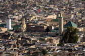 Morocco. Aerial view of the medina in Fes — Stock Photo