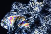 Micro Crystals in polarized Light — Stock Photo