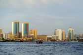 Deira view from the gulf Creek in Dubai — Stock Photo