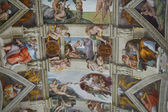 Frescoes in the Sistine Chapel — Stock Photo