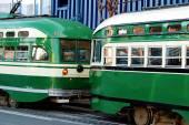 Tram in San Francisco — Stock Photo