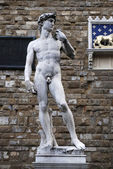 Michelangelo's David — Stock Photo
