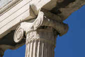 The Ionic column — Stock Photo