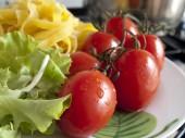Składniki kuchni włoskiej — Zdjęcie stockowe