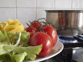 Cozinha italiana — Fotografia Stock