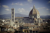 Florencie duomo — Stock fotografie