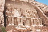 Abu Simbel, Egypt — Stock Photo