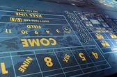 Casino Craps Table — Foto de Stock