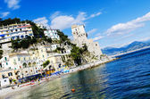 Angled shot of Amalfi Coast — Stock Photo