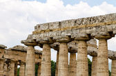 Close up of Temple of Hera in Paestum. Italy — Stock Photo