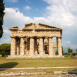 Temple of Neptune the famous Paestum archaeological  site in Italy — Stock Photo #75074055