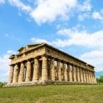 Temple of Neptune in Paestum. Italy — Stock Photo #76846655