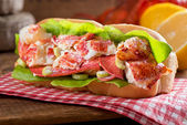 Lobster Roll — Stock Photo