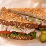 Chunky Tuna Salad Sandwich — Stock Photo #63579727