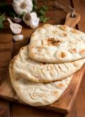 Naan Bread — Stock Photo