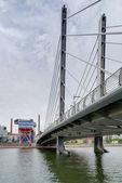 CRUSELL BRIDGE, HELSINKI — Стоковое фото