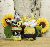 Russian clay dolls — Stockfoto