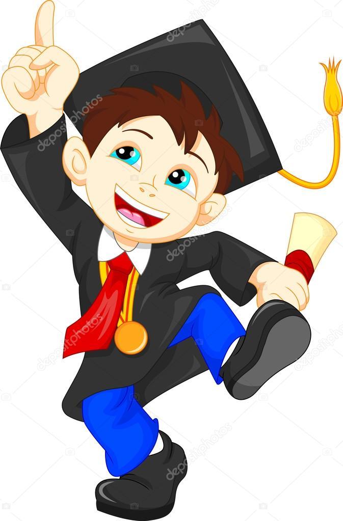 Dibujo Para Colorear De Niño Graduado ~ Ideas Creativas ...