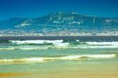 Atlantic ocean coast in Morocco — Stock Photo