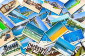 Stack of Morocco travel images — Stock Photo