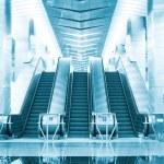 Escalator at the underground — Stock Photo #56260619