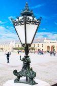 VIENNA, AUSTRIA - OCTOBER 10, 2014: Lamppost of the Schonbrunn P — ストック写真