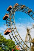 VIENNA, AUSTRIA - OCTOBER 12, 2014: Giant Ferris Wheel in Prater — Stock Photo